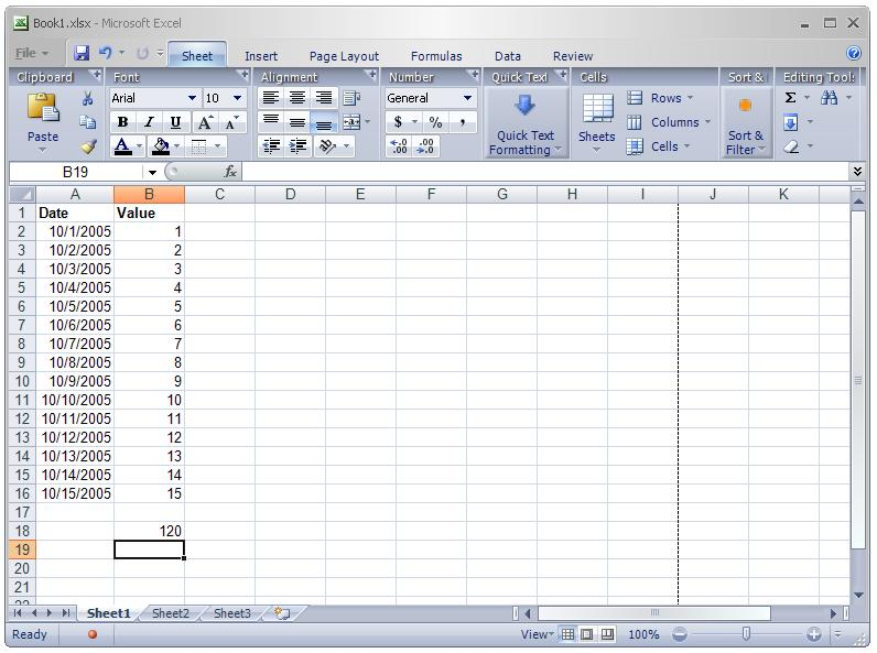 Introducing Excel 12