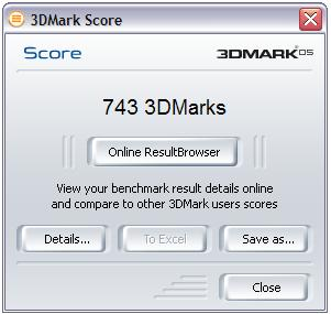 3DMark05 Reslts: Ouch