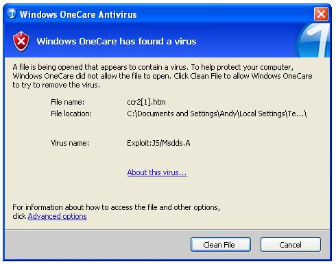 OneCare Nabs A Virus